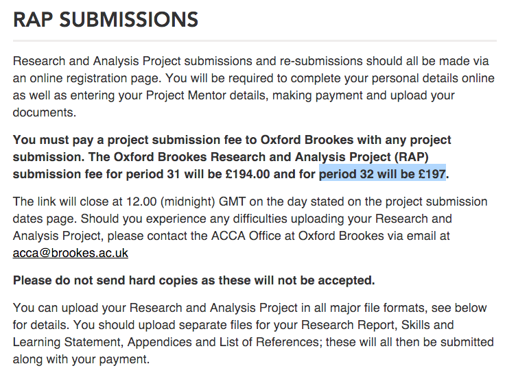 obu thesis submission fee